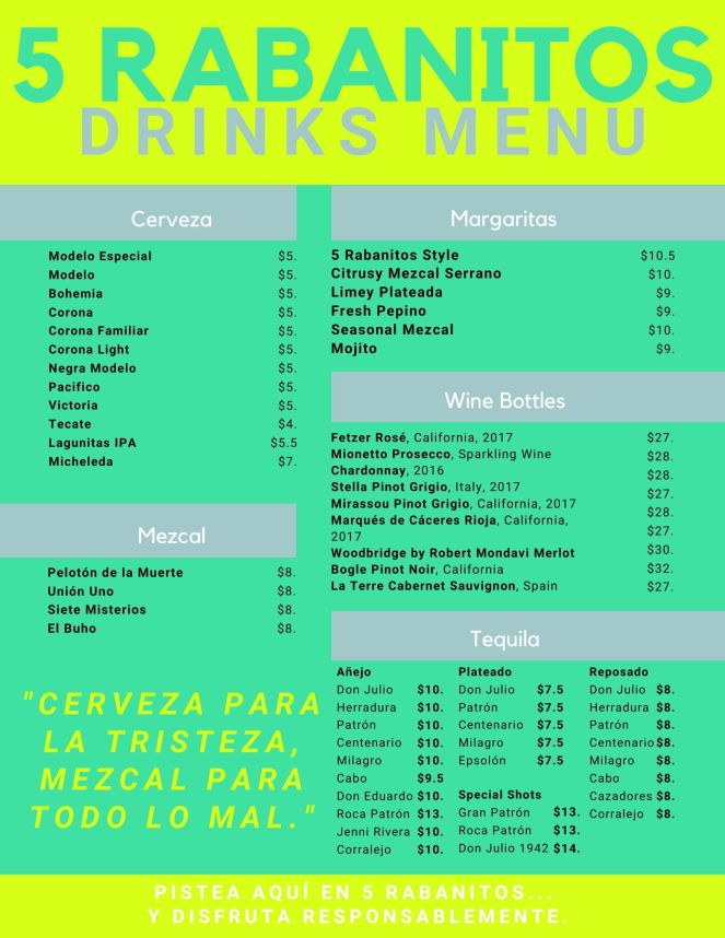 5 Rabanitos drink menu.jpg